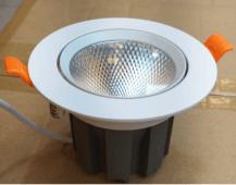 Imagem - Spot LED COB Redondo 15W Branco Quente Goodlighting cód: SP15WCOBBQ