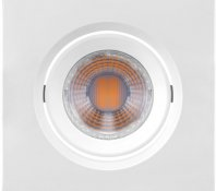 Imagem - Spot LED Embutir Quadrado 3W MR11 Bivolt 2700K Mini Dicróica 220 LM cód: 435724