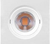 Imagem - Spot LED Embutir Quadrado 4,5W MR16 Bivolt 2700K Mini Dicróica 350 LM cód: 435731