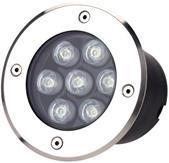 Imagem - Spot LED Embutir Solo 7w Bivolt 3000k Ip 65 80 Lumens Gaya cód: 9725