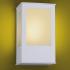 Arandela Aluminio Quadrada P/ 1 Lâmpada E27 Ideal Iluminação 286