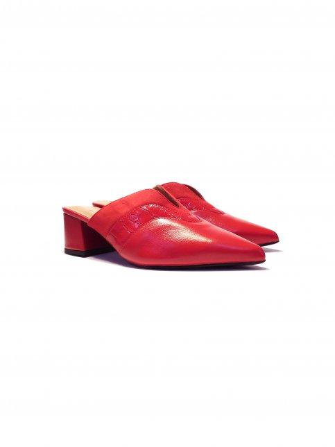 Sapato Feminino Mule Couro Dimariotti  9765