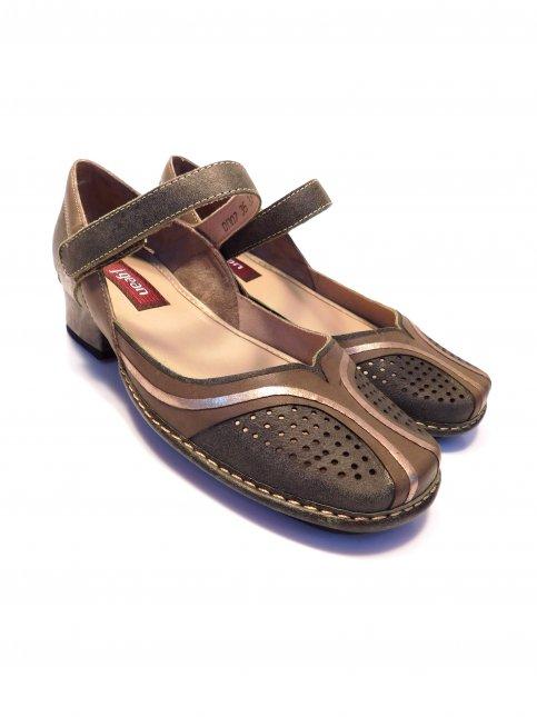 Sapato Feminino New Mariah Em Couro  J.Gean