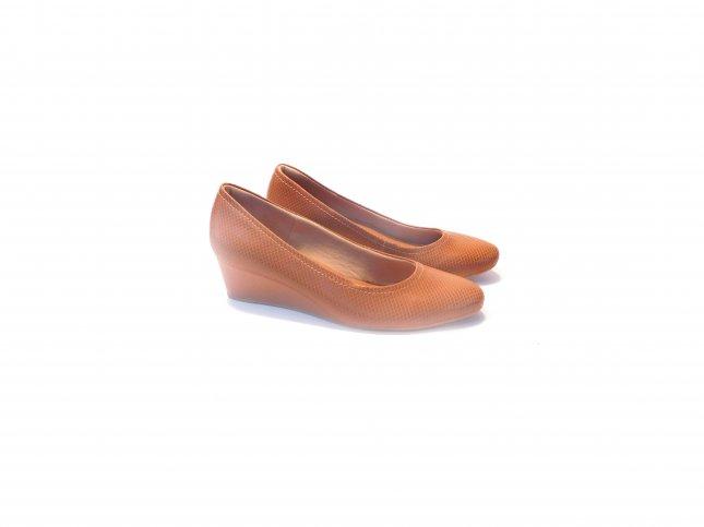 Sapato Scarpin Feminino Couro Usaflex Ad3201