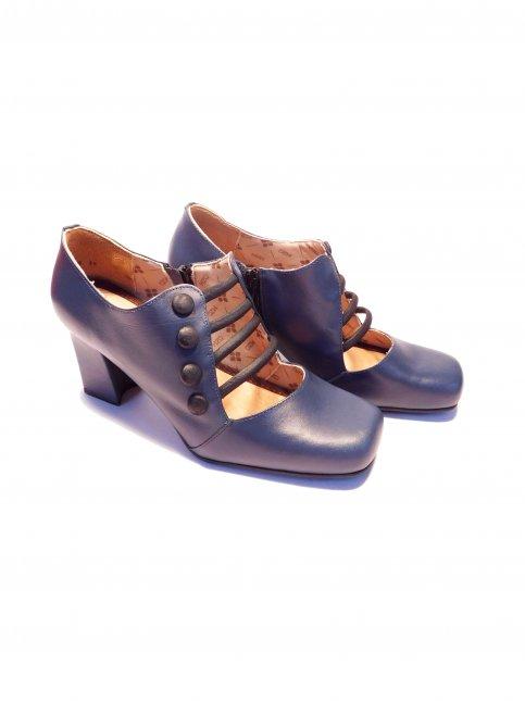 Sapato Retrô Couro Mazuque 6008