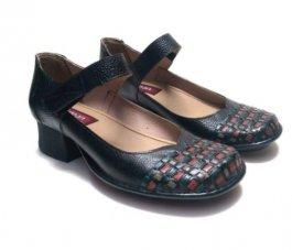 Imagem - Sapato Em Couro Estilo Boneca J. Gean CK0118 cód: 019396002