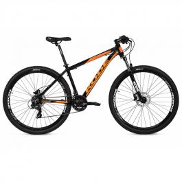 Imagem - Bicicleta Active Shimano 21V (Preto e Laranja) - Kode cód: 12475