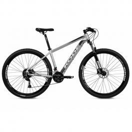 Imagem - Bicicleta Attack Shimano Altus 27V (Cinza e Preto) - Kode cód: 12506