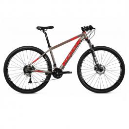 Imagem - Bicicleta Eagle Shimano Alivio 18V (Cinza e Vermelho) - Kode cód: 12587