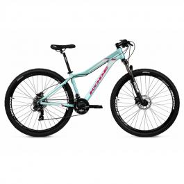 Imagem - Bicicleta Hilde Shimano 21V (Verde e Rosa) - Kode cód: 12477