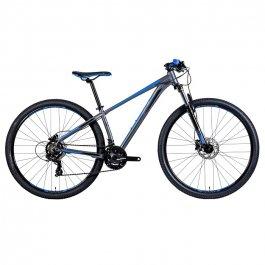 Imagem - Bicicleta Hype 30 Shimano 21V (Grafite e Azul) - Groove cód: 12651