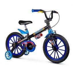 Imagem - Bicicleta Infantil Aro 16 Tech Boys - Nathor cód: 12384