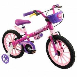 Imagem - Bicicleta Infantil Aro 16 Top Girls - Nathor cód: 12385