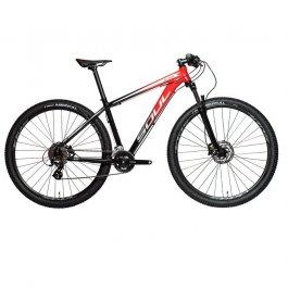 Imagem - Bicicleta SL129 Shimano 21V Brave (Vermelho e Preto) - Soul Cycles cód: 12509
