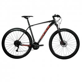 Imagem - Bicicleta SL229 Shimano Altus 27V (Grafite e Vermelho) - Soul Cycles cód: 11382