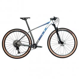 Imagem - Bicicleta SL529 Shimano Deore 12V (Prata e azul) - Soul Cycles cód: 12307