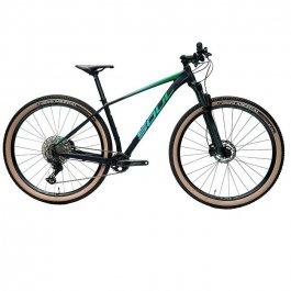Imagem - Bicicleta SL529 Shimano Deore 22V (Preto e Verde) - Soul Cycles cód: 12516