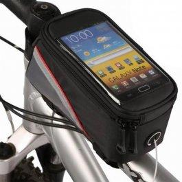 Imagem - Bolsa de Quadro Phone Bag Case (2x1) Cinza - Oem cód: 12318