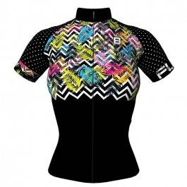 Imagem - Camisa Ciclismo Feminina MC Donna Tropical - Furbo cód: 12669