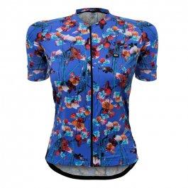 Imagem - Camisa Ciclismo Feminina MC Funny Premium Royal Flower - Marcio May cód: 12786