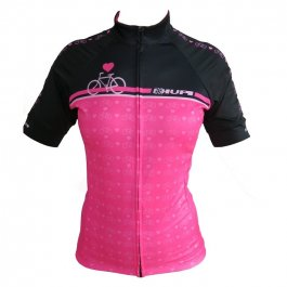 Imagem - Camisa Ciclismo Feminina MC Love Bike - Hupi cód: 12795