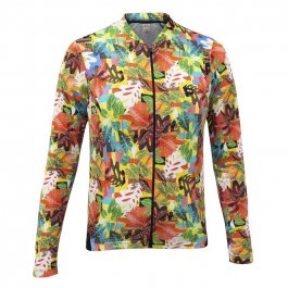 Imagem - Camisa Ciclismo Feminina ML Funny Cool Leaves - Marcio May cód: 12793