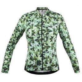 Imagem - Camisa Ciclismo Feminina ML Funny Green Tint - Marcio May cód: 12794