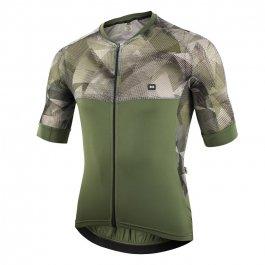 Imagem - Camisa Ciclismo Masculina MC Ellegance Verde Militar - Marcio May cód: 12784