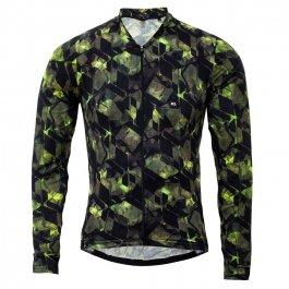 Imagem - Camisa Ciclismo Masculina ML Funny Tecno Geometric - Marcio May cód: 12340