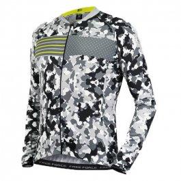 Imagem - Camisa Ciclismo Masculina ML Sport Kamo - Free Force cód: 12023
