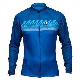 Imagem - Camisa Ciclismo Masculina ML Tradicional Azure - Furbo cód: 12666