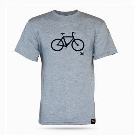 Imagem - Camiseta Casual Bike Tee (Cinza) - Mattos Racing cód: 12487