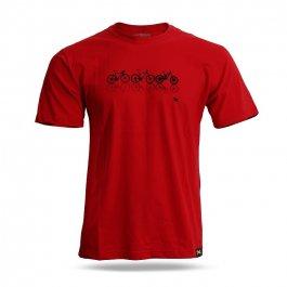 Imagem - Camiseta Casual Choice (Vermelho) - Mattos Racing cód: 11445