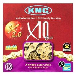 Imagem - Corrente 10v 116L X10 Gold - Kmc cód: 11591