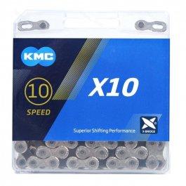 Imagem - Corrente 10v 116L X10 Silver - Kmc cód: 11929
