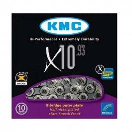 Imagem - Corrente 10v 116L X10.93 Silver - Kmc cód: 11926