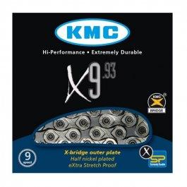 Imagem - Corrente 9v 116L X9.93 Silver - Kmc cód: 11590