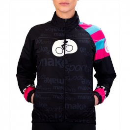 Imagem - Jaqueta CV Ciclismo Feminina ML In Love - Make Sports cód: 12823