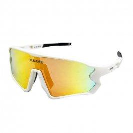 Imagem - Oculos Ciclista 3 Lentes (Branco) - Kave cód: 12269