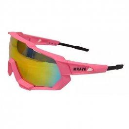 Imagem - Oculos Ciclista 3 Lentes (rosa) - Kave cód: 11750