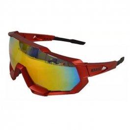 Imagem - Oculos Ciclista 3 Lentes (vermelho) - Kave cód: 11751