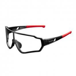 Imagem - Oculos Ciclista Fotocromático II (Preto e Vermelho) - Rockbros cód: 12554