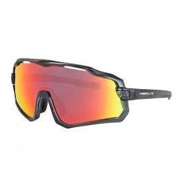 Imagem - Oculos Ciclista Wild (Preto Vermelho) - Absolute cód: 12497