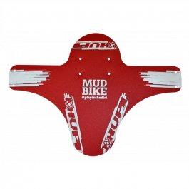 Imagem - Paralama Dianteiro Hupi (Vermelho e Branco) - Mud Bike cód: 11828
