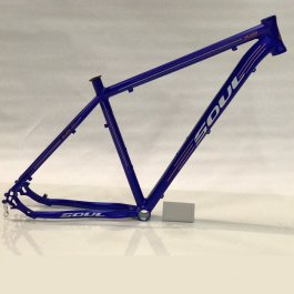 Imagem - Quadro Mtb Aro 29 Modelo Sl129 Tamanho 19 (Azul e Laranja) - Soul Cycles cód: 11471