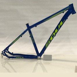 Imagem - Quadro Mtb Aro 29 Modelo Sl129 Tamanho 19 (Azul e Verde) - Soul Cycles cód: 11470