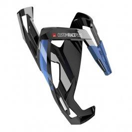 Imagem - Suporte Garrafa Nylon Custom Race Plus (Preto e Azul) - Elite cód: 12440