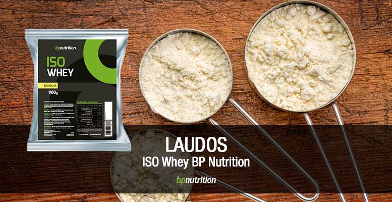 Laudo Iso Whey BP Nutrition