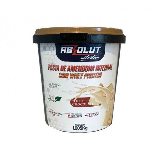 Pasta de Amendoim com Chocolate Branco (1kg) - Absolut Nutrition