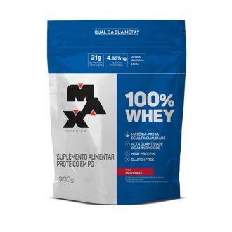 Imagem - 100% Whey Protein Refil (900g) - Max Titanium cód: 1267